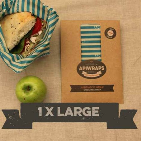 reusable natural beeswax sandwich wrap