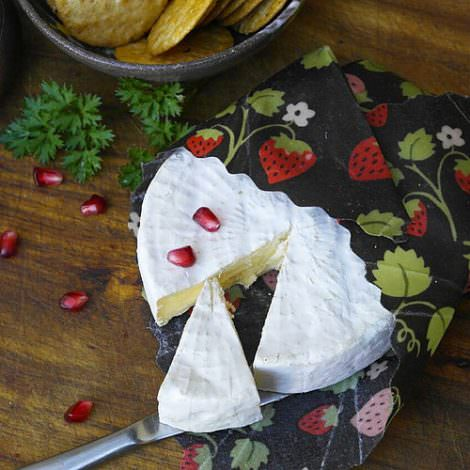cheese with beeswax wraps