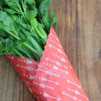 XL beeswax wrap food store