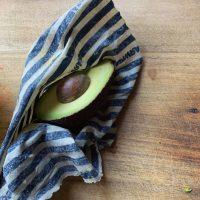 beeswax wrap avocado