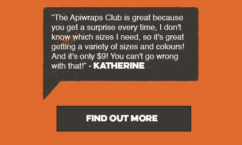 Apiwraps Subscription Club is a great way to build your collection for only $9 a month